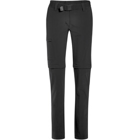 Maier Sports Inara Slim Zip Off Pants Women Long black